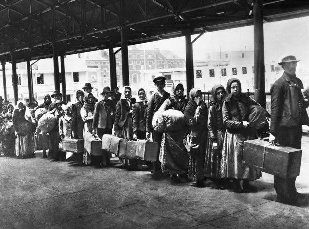 1892- Ellis Island